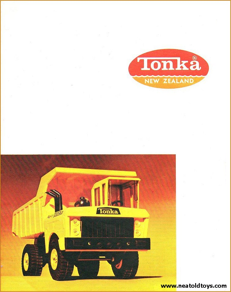 1968 Tonka Toys New Zealand NZ Dealer Catalog Catalogue