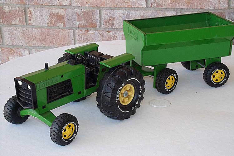 Vintage Tonka Tractors : Tonka wagon the