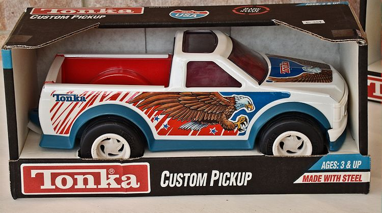 1992 Tonka Model #92012 Custom Pickup With Eagle Graphics #042