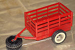 1961 Tonka Red Stake Trailer #077