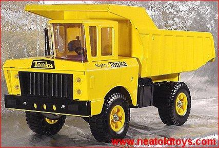 Mighty Tonka Dump Trucks 1964 - 1972