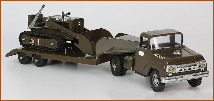 1964 Tonka New Zealand Model 1001 Military Set