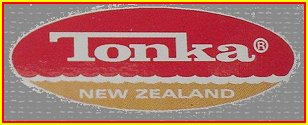 Tonka New Zealand Logo Label